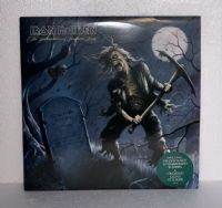 "Iron Maiden: The Reincarnation of Benjamin Breeg - 10"" Clear Vinyl EP with Crossed Guns Sticker"